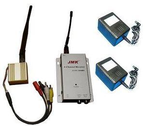 Transmisor rx inalambrico largo alcance cctv video camara