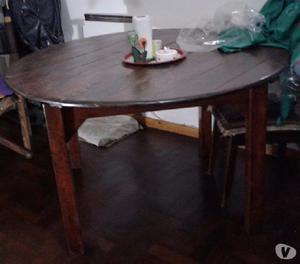 Vendo mesa de madera!!!!