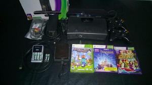 Xbox 360 + kinect + 2 joysticks + todos los mejores y