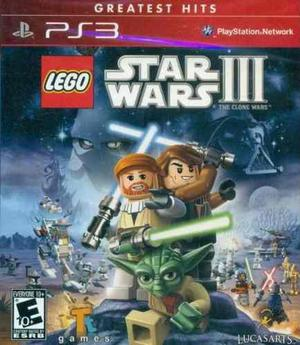 Lego star wars 3: the clone wars ps3 | fisico | ps3 | local
