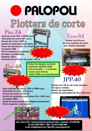 Plotter de Corte y Dibujo Palopoli Nuevo Eco61 Lcd