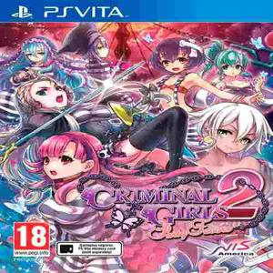 Oni games - criminal girls 2 party bag limited.ed ps vita