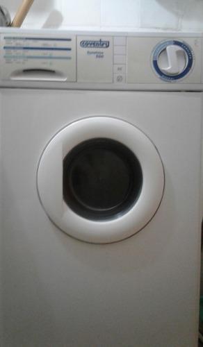 Lavarropa coventry automatico !!poco uso!! c/ manual orig.