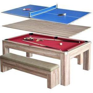 Mesa de pool · reversible (ping pong + mesa).