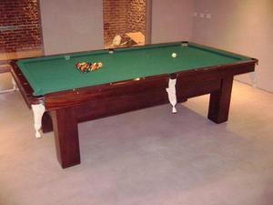 Mesas antiguas de pool snooker brunswich
