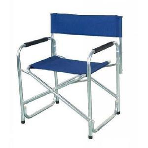 Sillon director plegable aluminio - camping - aire libre -