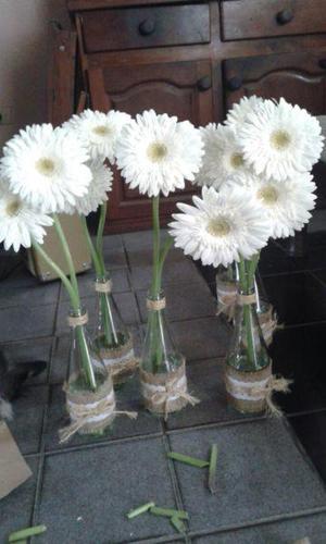 Botellas vidrio centros mesa rebajas agosto clasf - Mesas de centro de vidrio ...