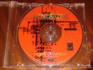 Generator vol.1 original para sega dreamcast