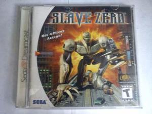 Slave zero original sega dreamcast ntsc-u