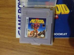 Metroid 2 return of samus para game boy