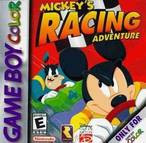 Mickey's racing adv nintendo gameboy color palermo znorte