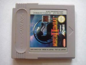 Mortal kombat ii original nintendo gameboy