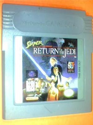 Super star wars return of the jedi - gb original - ntsc