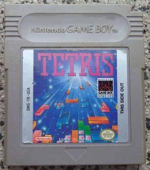 Tetris - nintendo game boy - original - inglés - rat5