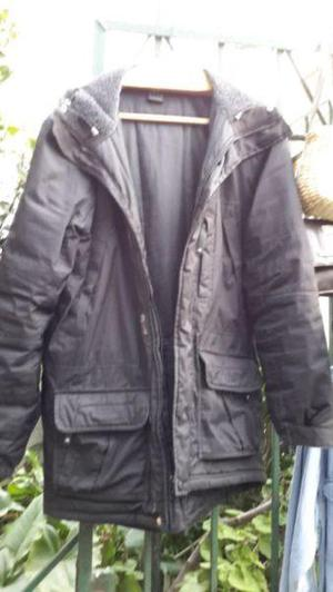 Campera adidas negra con capucha
