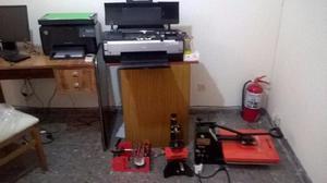 Impresora epson stylus photo 1410 sublimación.