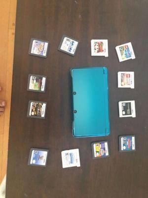 Nintendo 3ds en excelente estado con 2 juegos de regalo