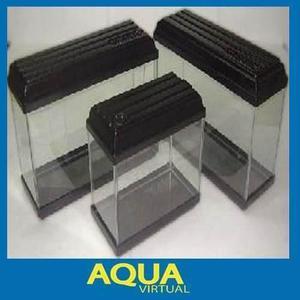 Pecera mainar 100x40x30 base plafon y tubo - aqua virtual