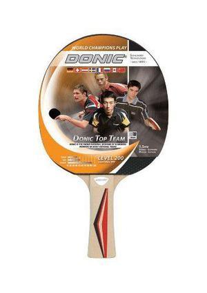 Paleta de ping pong donic top team 200 goma 1,5mm