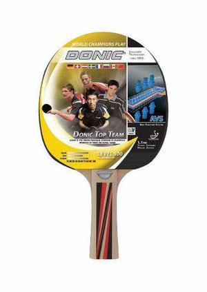 Paleta de ping pong donic top team 500 goma 1,7mm