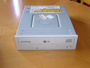Grabadora de cd marca lg modelo gce-8525b - ide - impecable!