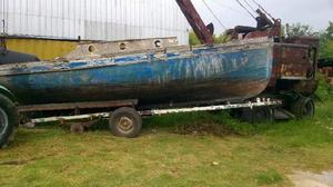 Vendo barco parodi de madera!!!!!!