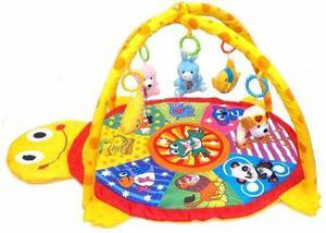 Alfombra, manta didáctica gimnasio bebe con sonidos