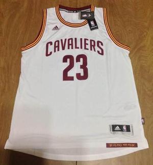 Camiseta adidas cleveland cavaliers 15/16 - lebron james #23