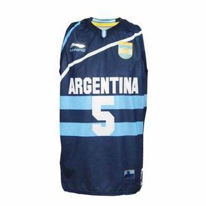 Camiseta basquet argentina ginobili scola li ning oferta