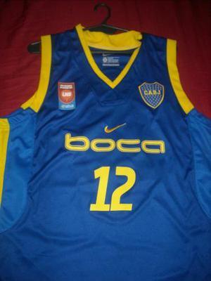 Camiseta basquet boca la 12