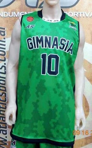 Camiseta basquet gimnasia comodoro rivadavia nueva 16/17 a's