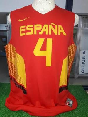 Camiseta de basquet seleccion españa nike #4 pau gasol