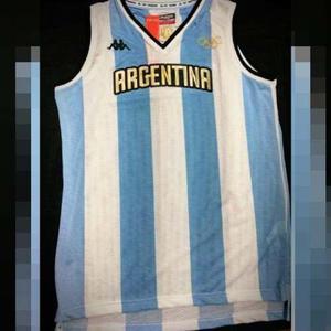 Camiseta selección argentina de basquet olimpiadas rio 2016 9a3b0233284df
