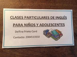 Clases particulares de inglés en pilar