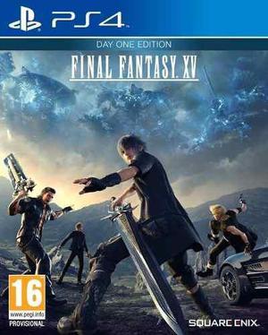 Final fantasy xv day one edition ps4- fisico-original /local