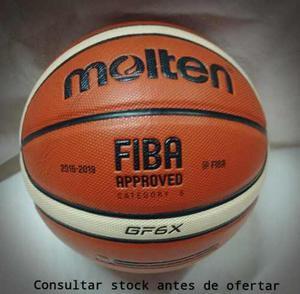 Pelota basquet molten gf6x oficial femenino