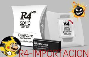 R4 dual core 2016 compatible con ds dsi 2ds 3ds xl