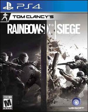 Rainbow six siege ps4 fisico sellado nuevo envios