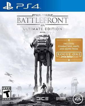 Star wars battlefront ultimate edition ps4 + regalo