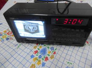 Panasonic tv radio am fm despertador