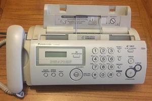 Vendo teléfono fax panasonic kxfp207ag papel comun