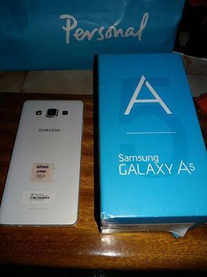 Samsung galaxy a5 para personal, en caja original con vidrio