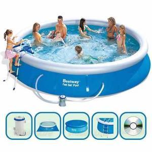 Pileta lona redonda clasf for Lona piscina redonda