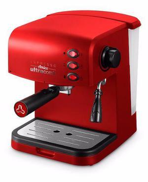 Cafetera Express Electrica Ultracomb Ce-6108 15bar Espumador