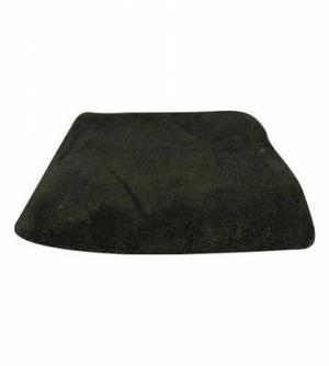 Cojinillo de pelo de oveja sintetico color oscuro