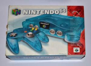 Nintendo 64 Ice Blue Donkey Kong Expansion Pak