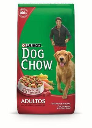 Dog chow adultos raza medianas y grandes x 21 k