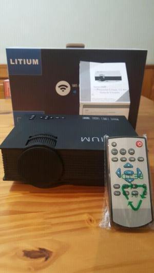 Mini proyector- wifi- modelo uc-46-litium.