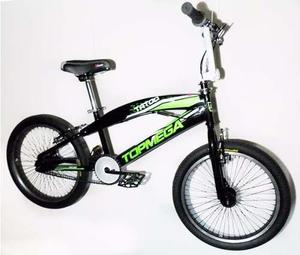 Bicicleta freestyle rodado 20 - 48 rayos reforzada con rotor