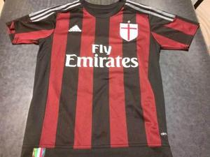 Camiseta original del milán de italia 2016